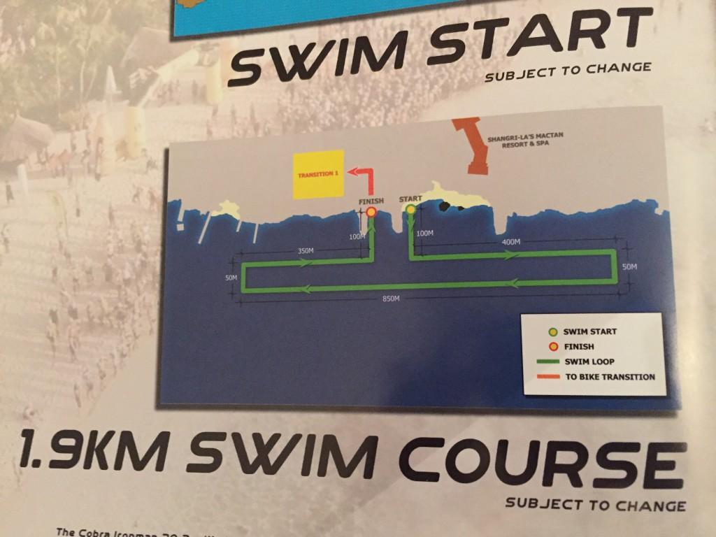 ironman philippines 2015 swim course