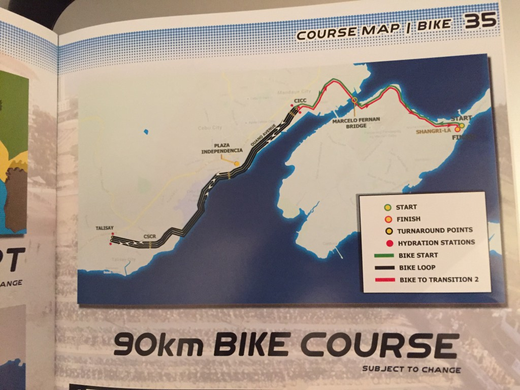 ironman philippines 2015 bike course