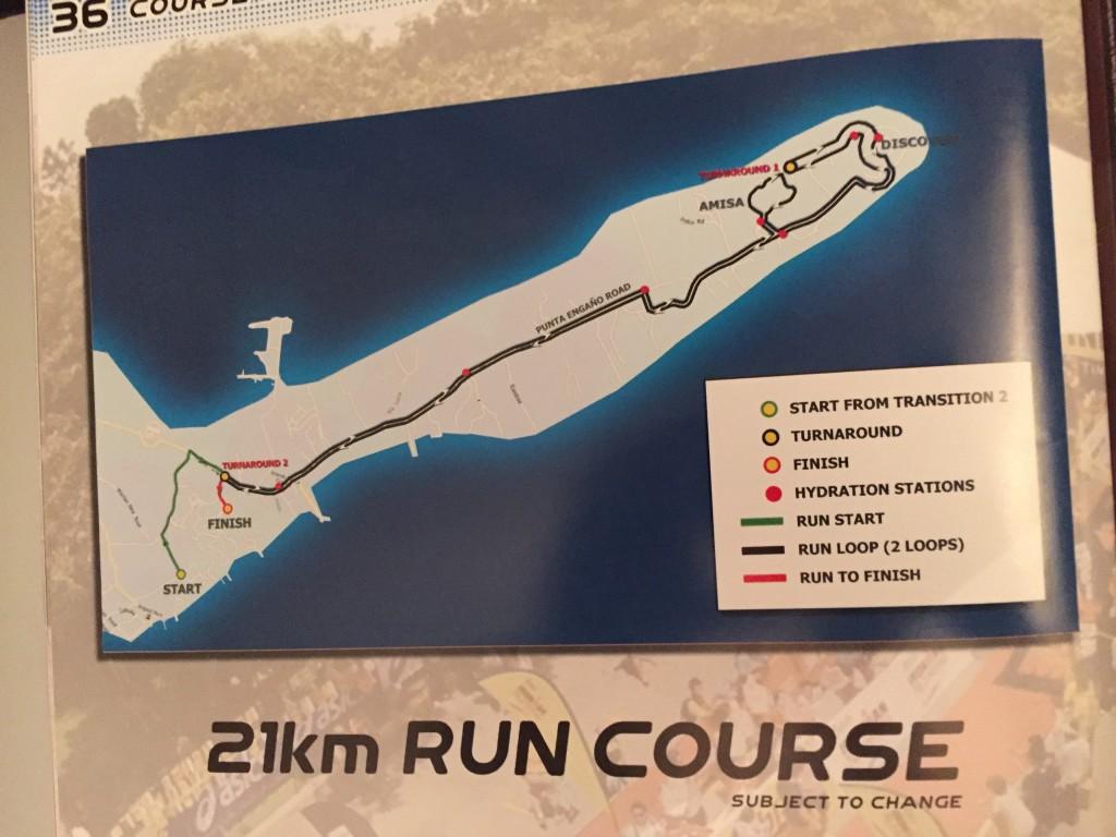 ironman philippines 2015 run course