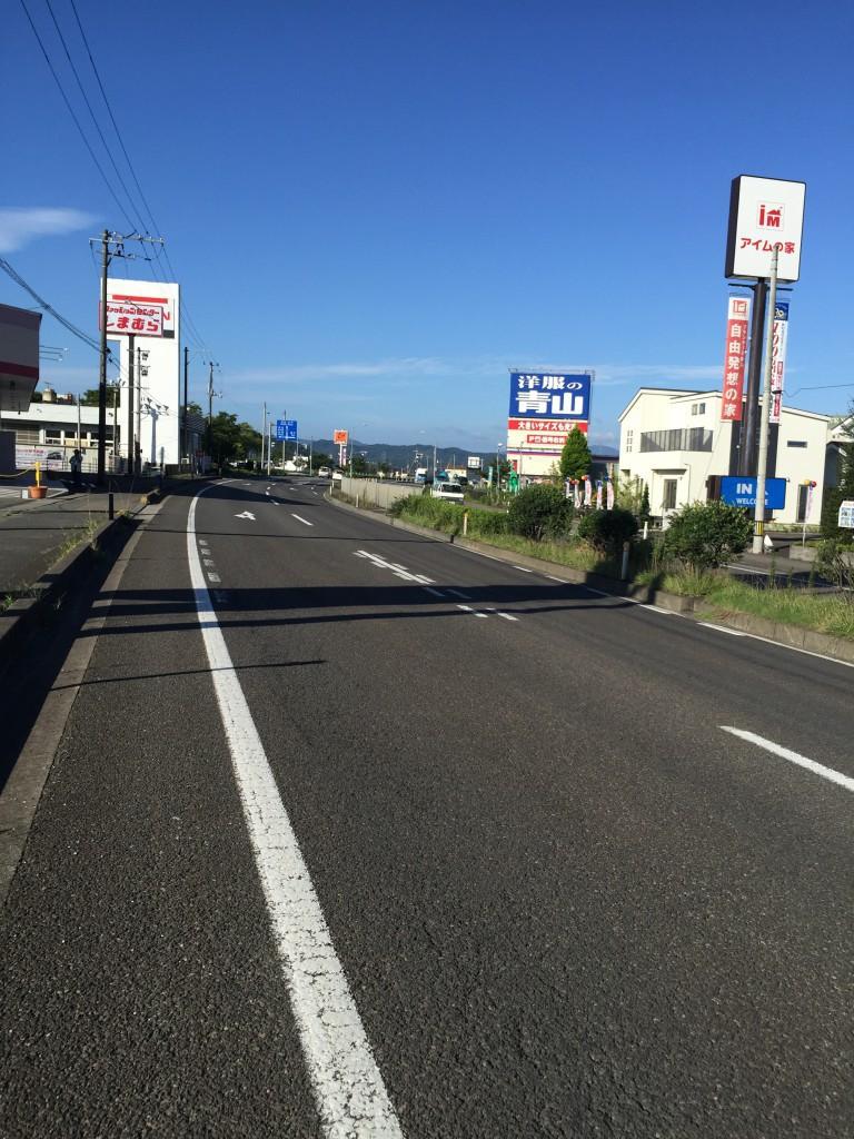仙台から4号線を南下