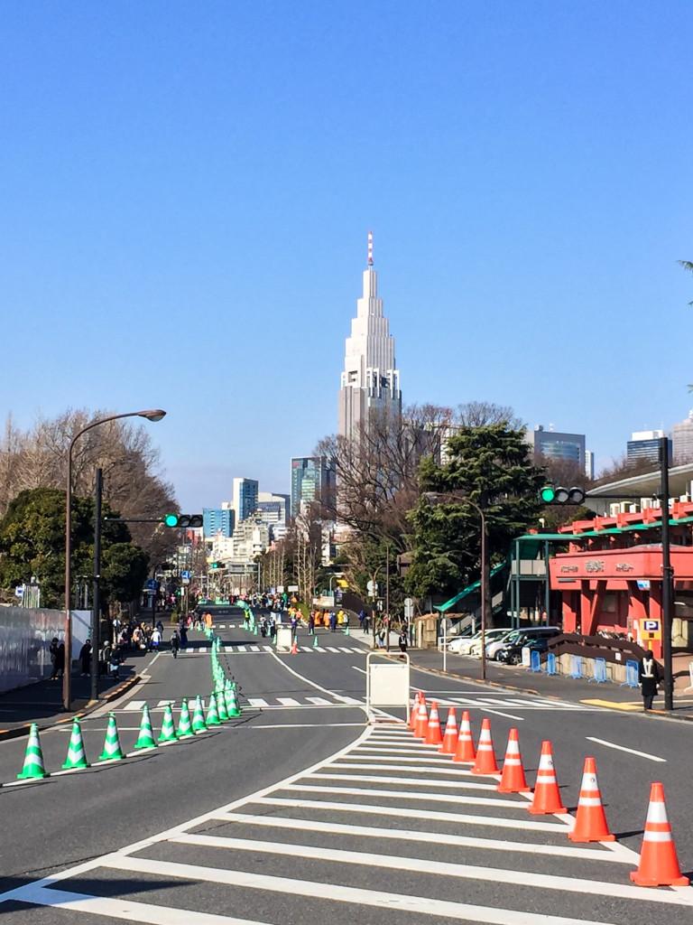 東京体育館前コース