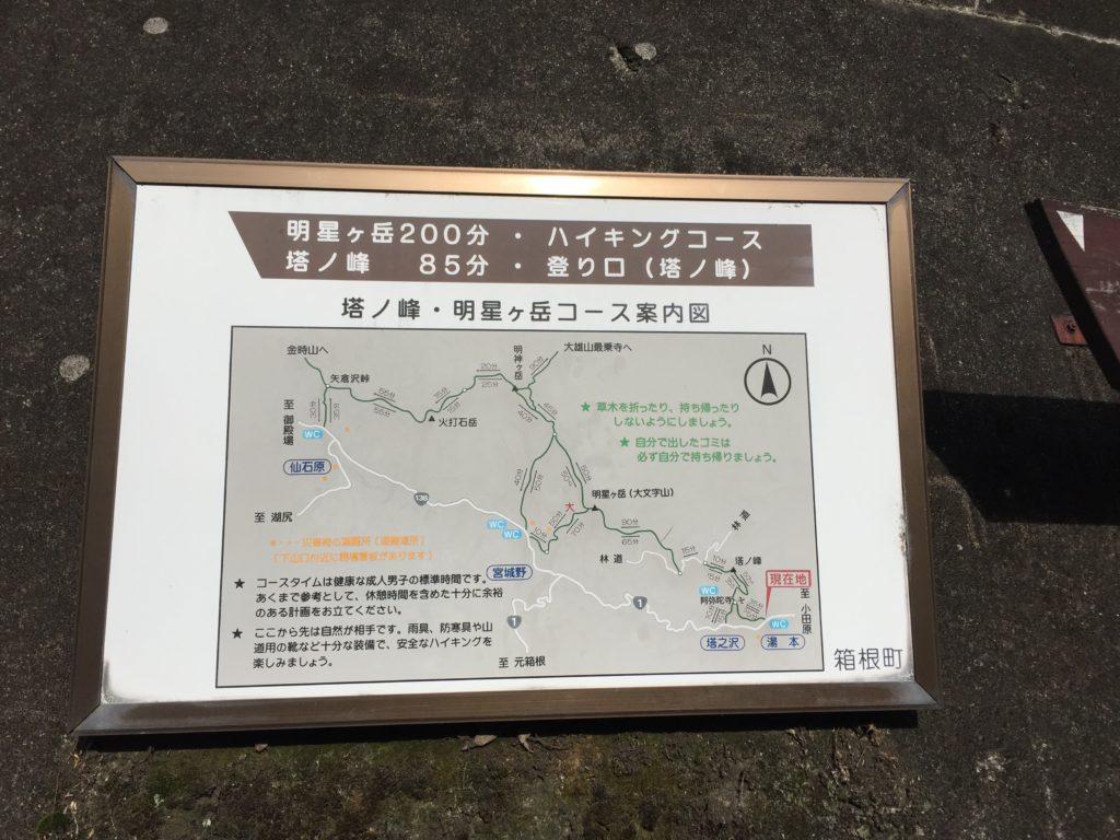 箱根外輪山 入り口がわかりづらい。。。