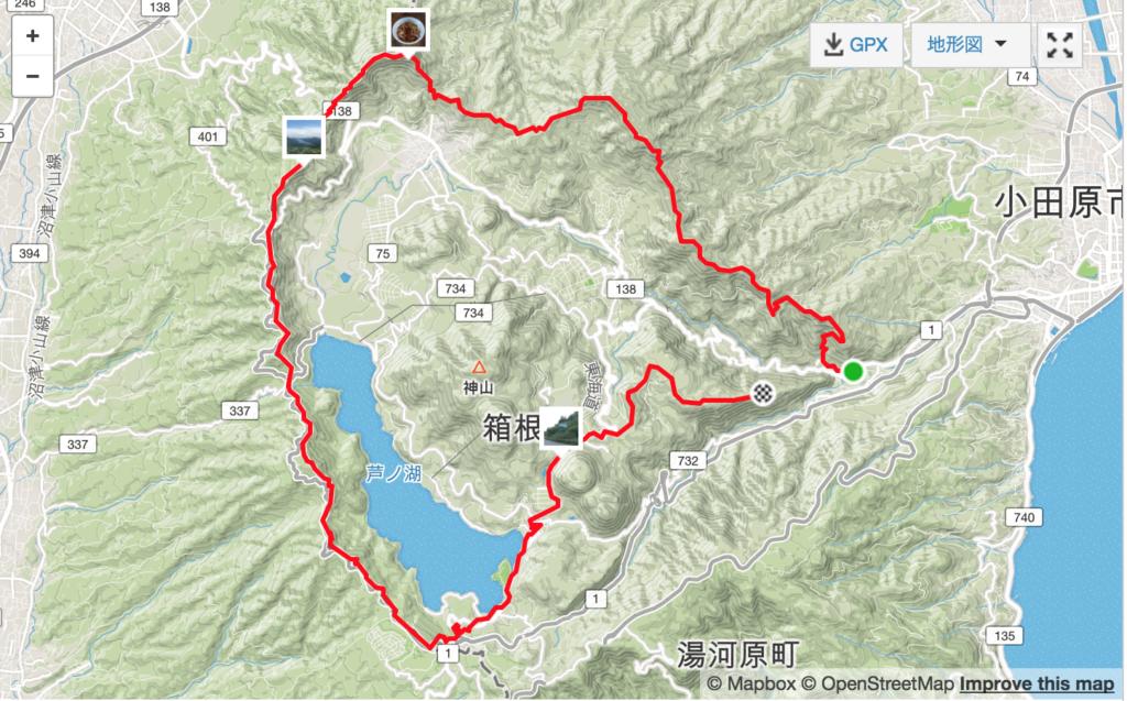 箱根外輪50km