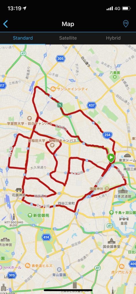 顔マラソン 東京